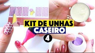 CRIANDO KIT DE UNHA CASEIRA SEM GASTAR NADA #4 | KIM ROSACUCA