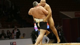 Top 5 best fights Sumo. #4 Сумо 2014