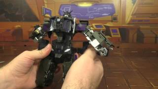 Transformers review Unite Warrior Menasor with Perfect Effect Upgrades