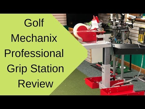 2019 Golf Mechanix Professional Grip Station - Golf Club Repair Tool Review