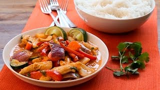 Thai Chicken And Zucchini Curry