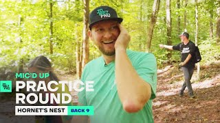 Uli Blows Jerm's Mind on the Back 9  | Mic'd Up Practice Round Disc Golf Pro Tour Championship