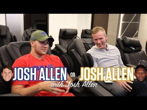 'Josh Allen or Josh Allen' with Buffalo Bills QB Josh Allen | Chris Simms Unbuttoned | NBC Sports