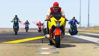 LA MOTO LA PLUS RAPIDE ? (Test avec 15 MOTOS) GTA 5 ONLINE
