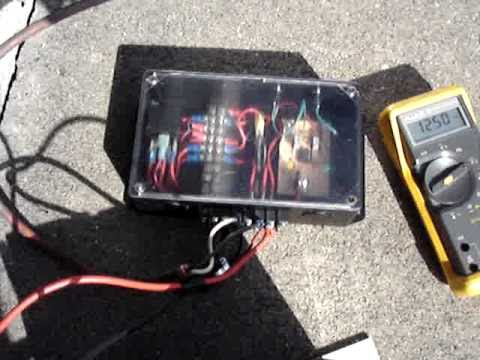 555 Based Solar Charge Controller at mdpub.com - YouTube