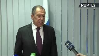 Пресс подход Сергея Лаврова по итогам первого дня заседания СМИД ОБСЕ
