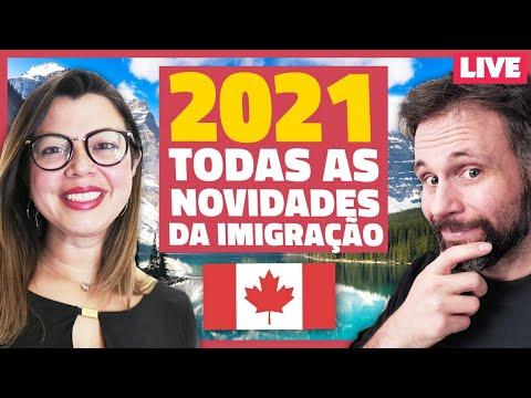 AO VIVO: Todas as NOVIDADES e MUDANÇAS da IMIGRAÇÃO para o CANADÁ em 2021