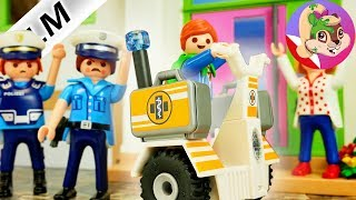 Playmobil Rodzina Wróblewskich - Julian pędzi na Segway'u do dentysty