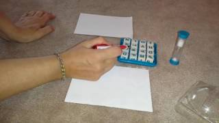 How To Play Boggle Modified for Children