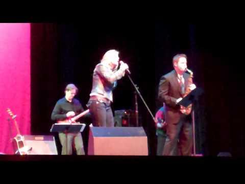 Mary Cogan with Grady Nichols on 2/14/11