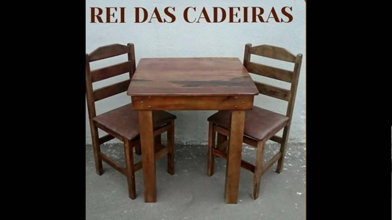 Mesa Bar De Algarrobo