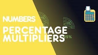 Percentage Increase & Decrease - Using Multipliers   Number   Maths   FuseSchool