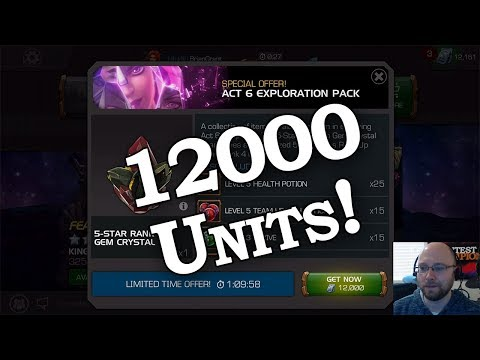 12k Units Gone - The Act 6 Pack | Marvel Contest of Champions