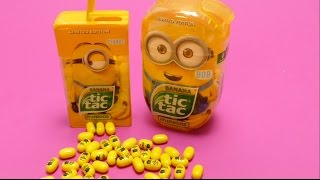 Minions Banana - Tic Tac Limited Edition