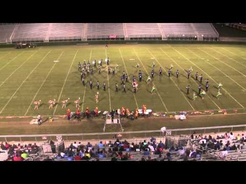 Banks County High School Marching Band - 2013 Coffee Marching Invitational 4th Place