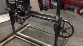 How to build a simple Bandsaw Mill #1