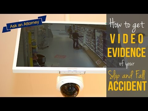 How do I gather video evidence for my slip and fall case in Tennessee? | Flexer Law