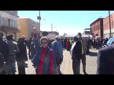 Terrie Randolph FIST UP - Chief Asst. to Hosea Williams for 35 years-in Selma UNCUT March 2015