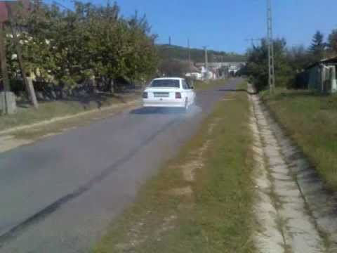Opel Vectra 2.0 I 115 Hp Start Burnout