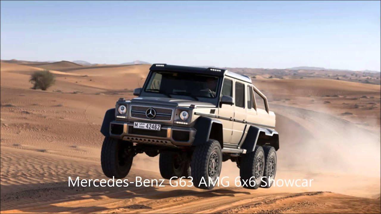 mercedes benz g class 6x6 driven - youtube
