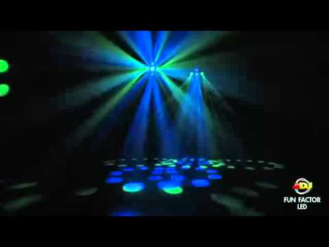 American DJ Fun Factor LED Moonflower / Strobe DMX Disco Light @ AstoundedDotCom