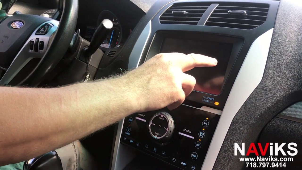 2013 Ford Explorer MyFord Touch SYNC 2 NAViKS Video In Motion Bypass