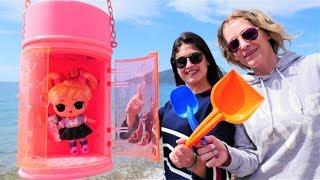 Ayşe ile LOL oyuncağı bulma oyunu! Eğlenceli çocuk videosu!