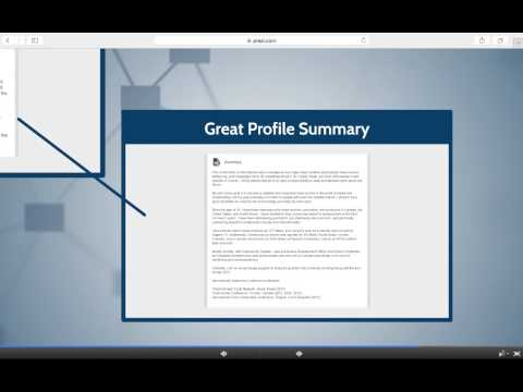 examples create profile on dating sites