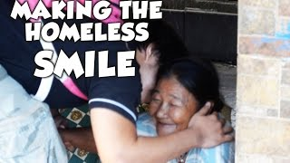 Making The Homeless People Smile - Manila (Philippines)