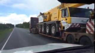 видео Тралы для перевозки тяжеловесных грузов