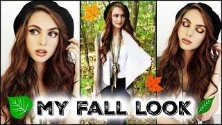 GRWM: Fall Makeup, Hair & Outfit 2016