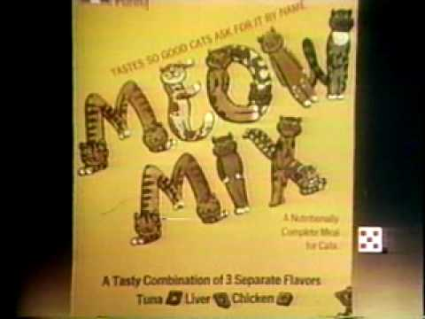 Meow Mix 1979 TV commercial