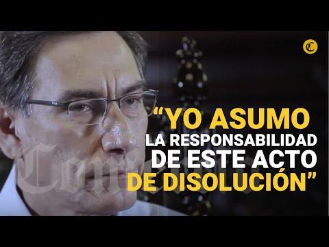 Entrevista Exclusiva Con El Presidente De La República Martín Vizcarra | El Comercio