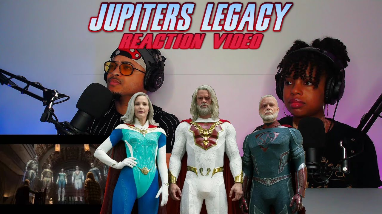 Jupiter S Legacy Official Trailer Netflix Couples Reaction Video Youtube
