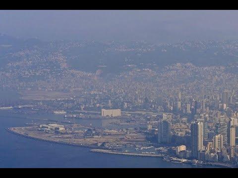 El impactante daño en Beirut por la explosión grabado desde un dron
