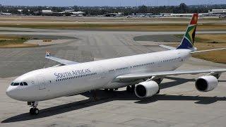 Tambo Johannesburg (FAOR) to New York JFK (KJFK) FSX South Africa Airways A340-600