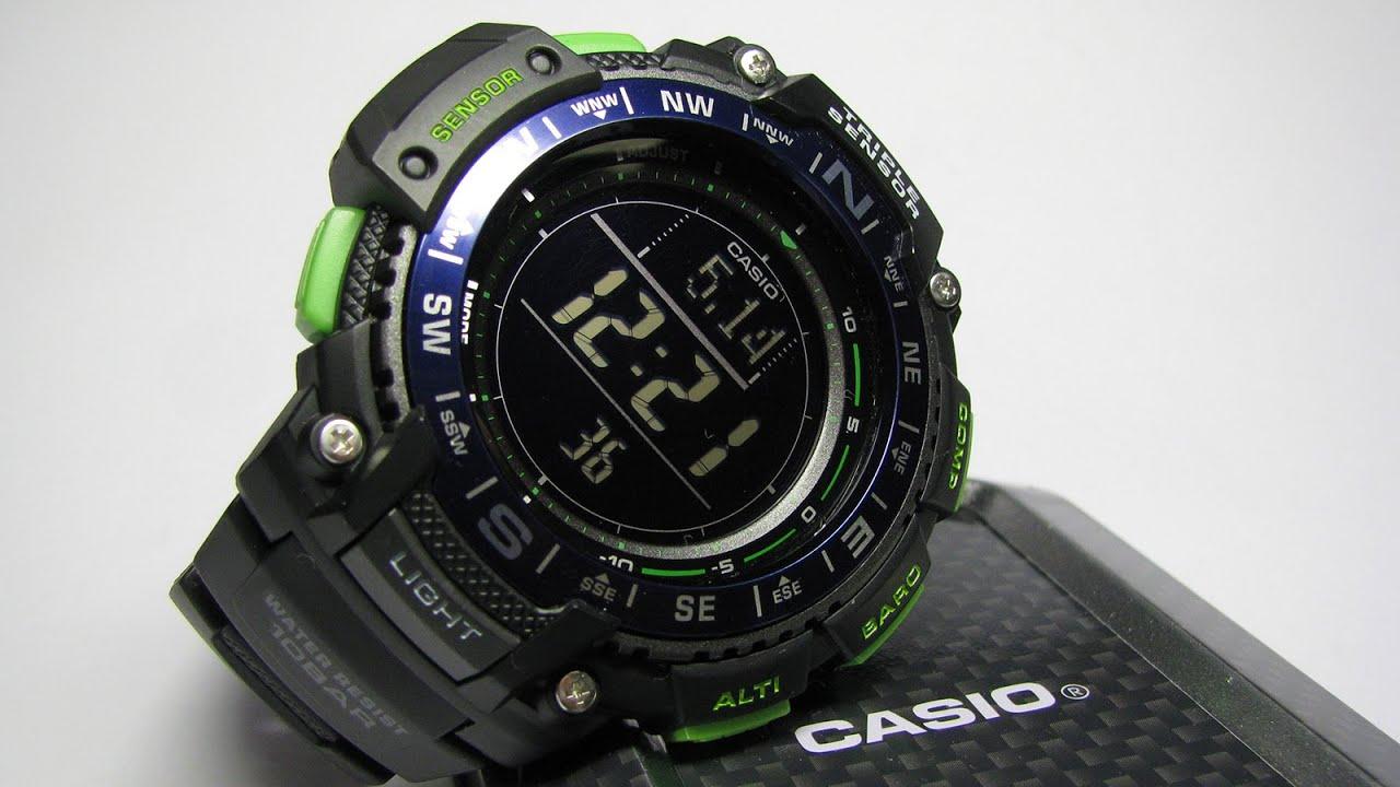 1000 Triple Sgw Sensor Outgear 2bcf Watch ProtrekCasio Digital I7gymbYf6v