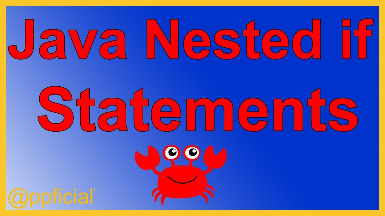 Java nested if else statements by example easy java tutorial java nested if else statements by example easy java tutorial appficial baditri Images