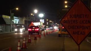 DUI Drivers License Checkpoint Planned This Weekend By Long Beach Police