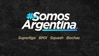 #SomosArgentina – Hoy Superliga, BMX, Squash y Bochas