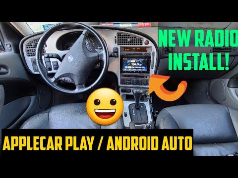 Saab 9-5 In-Depth Double Din Radio Install #applecarplay #andriodauto