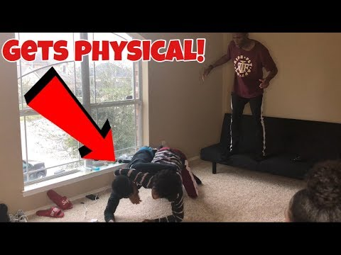 ARGUING IN FRONT OF FRIENDS PRANK!!! GETS PHYSICAL