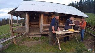 Mancaruri ciobanesti traditionale la stana din Grinties (Exclusiv in Romania)