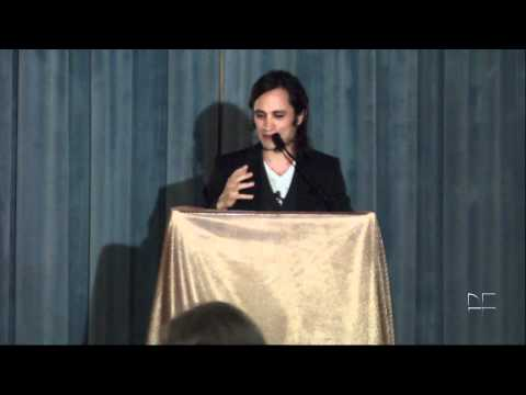 Gael Garcia Bernal receives WOLA human rights award
