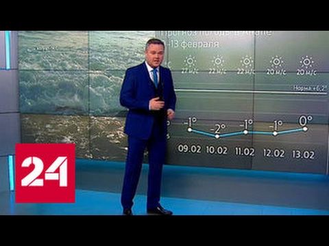"""""""Погода 24"""": на юг страны обрушился шторм"""
