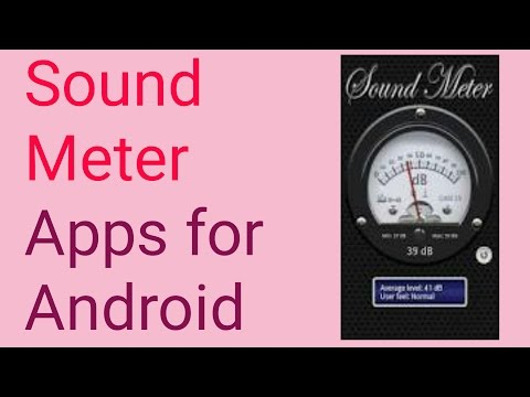 Sound Meter Apps for Android Reviews || Testing Mobile Sound-Meter || Sound Decibel Meter -[Hindi]