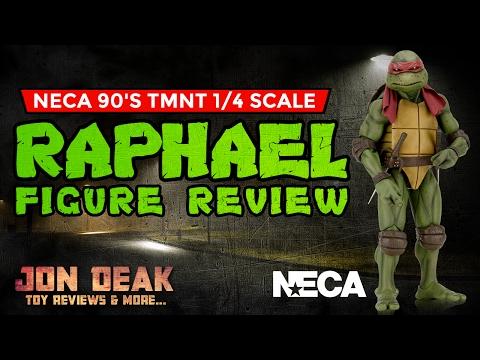 NECA - 1/4 SCALE 1990 TMNT RAPHAEL FIGURE ( REVIEW ) 