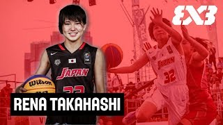 Rena Takahashi - Japan's Crossover Queen - Mixtape Monday - FIBA 3x3