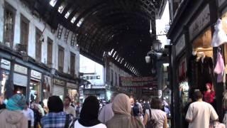 シリアダマスカスのスーク(市場)