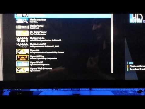IPTV / Streaming mit den Media Player bei einen Linux Enigma 2 Kabel / Satelliten Receiver